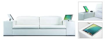 technology in furniture. Interesting Technology View In Gallery Futuristic Athena Sofa With Technology In Furniture D