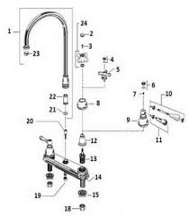 peerless bathroom faucet parts diagram. american standard 4771.222, 4771.322; hampton; two handle kitchen faucet with side spray repair technical parts breakdown peerless bathroom diagram i