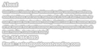 South Florida Vending Machines Enchanting Vending Machines Sales Service Rentals In South Florida ATM