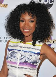 brandy um black curly hairstyle for black women