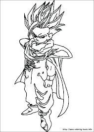 Free Coloring Pages Dragon Ball Z Coloring Pages Coloring Pages