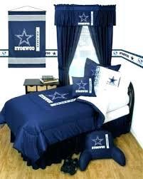 Cowboys Bed Set Comforter Bedroom Inside Foxy Dallas Cowboy ...