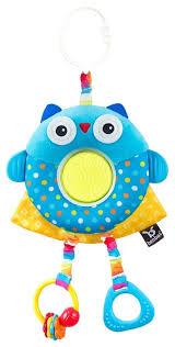 <b>Подвесная игрушка Benbat</b> Dazzle Friends Travel Toy Сова (TT114)
