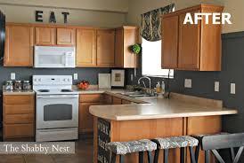 Shiny Gray Kitchen Walls Dark Cabinets On Grey Kitchen Walls