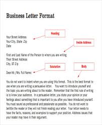 Heading Of Formal Letter 47 Formal Letter Examples Pdf Word Free Premium Templates
