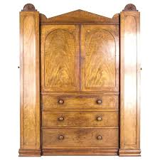 armoire with shelves and drawers antique regency wardrobe linen press cabinet for large armoire with shelves and drawers