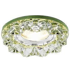 Встраиваемый <b>светильник Ambrella light</b> Crystal <b>K330</b> GD ...