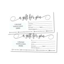 Image 0 Printable Gift Certificate Template Voucher
