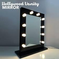 makeup mirror lighting. Hollywood Makeup Mirror With Lights Vanity In Black Lighting .