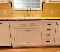 Quarter Round Kitchen Cabinets Carolyns Gorgeous 1940s Kitchen Remodel Featuring Yellow Tile