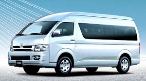 Toyota Hiace Combi High Roof '08 2004–06 2010 - YouTube
