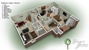 3 bedroom home design plans. Perfect Home 3 Bedroom Home Design Plans House  To E