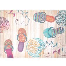 beach area rugs delectably flip flop s coastal beach rug by united weavers regional concepts beach beach area rugs