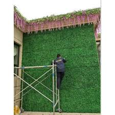 2cps artificial turf lawn grass mat for indoor outdoor wall background decor
