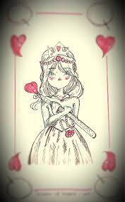 she is the queen of hearts otherpw hearts cards queenofhearts