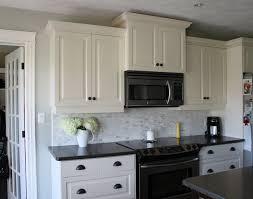 White Cabinets Backsplash Backsplash Ideas With White Cabinets And Dark Countertops