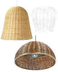 basket pendant light ing hanging basket lamp shade