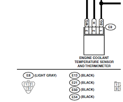 wire or wire to three wire coolant temp sensor conversion info here is for an my04 sti i don t know if other years are different colors