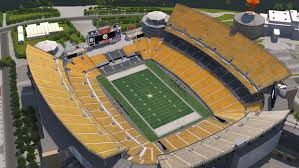 Heinz Field Virtual Seating Chart Pittsburgh Steelers Virtual Venue By Iomedia