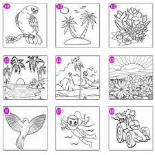 Documents similar to gambar hitam putih untuk mewarna. Jual Ready Stock Paket Kanvas Lukis Gambar Anak Mewarnai Lengkap 2 Promo Jakarta Barat Azura Happy Tokopedia