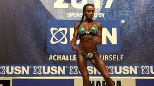 Claire Gibbs – Competitor No 45 - Miss Athletic Figure - USN NABBA Britain  Final 2017 - YouTube