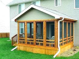 screened in patio ideas porches covered designs screen porch flooring idea