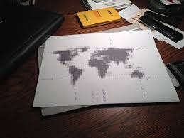 i got the idea from the last time this came across imgur obviously this is the same template that rosulek used i got it from his reddit thread  on map wall art reddit with i too made a world map wall art album on imgur