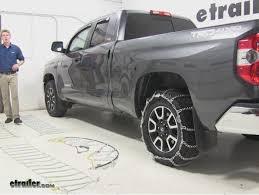 Best 2014 Toyota Tundra Tire Chain Options Video | etrailer.com