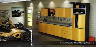 metal garage storage cabinets. yellow contur metal garage cabinets storage e