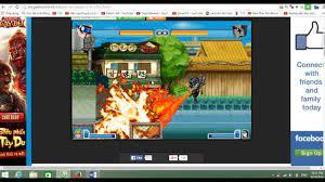 bleach vs naruto 2.6 trận đấu kinh điển của naruto vs sasuke - YouTube