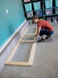 how to build oversized garage storage