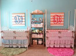 twins nursery furniture. coral u0026 teal boy girl twin nursery twins furniture b