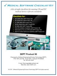 Medical Device Software Design Iso 13485 Iec 60601 Ansi Standards Checklists Medical