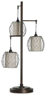 Hanging Triple Cage Table Lamp