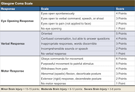 Glasgow Coma Scale Nursing Template