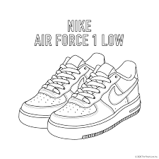 Shoe coloring pages to download and print for free. 10 Free Printable Coloring Pages For Kids Just For Kicks Coloring Book By Finish Line