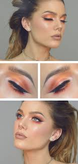 chic cat eye makeup look