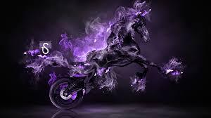 fire moto fantasy horse