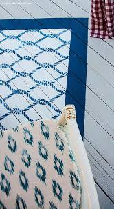 Diy Rug Painted Outdoor Rug A Diy Rug Tutorial Heathered Nest Rule
