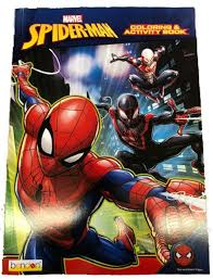 My custom spiderman color drawing. Coloring Book Spiderman 128p Jumbo Coloring And Activity Book Walmart Com Walmart Com