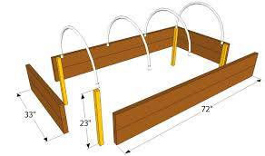 Small Picture Simple How To Build Raised Garden Beds Four E And Ideas