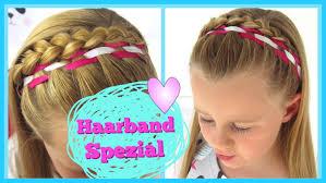 Haarband Spezial Teil 2 Geflochtenes Haarband Flechtfrisur F R