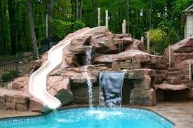 revolutionary diy pool waterfall rock slide diy ideas cuttingedgeredlands backyard pool waterfall diy pool waterfall ideas diy diy pvc pool waterfall