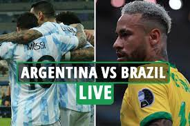 Argentina vs Brazil Live: Argentina ...