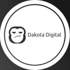 dakota digital logo. dakota digital logo o
