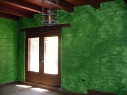 ugly awful green faux sponge painting bedroom phoenix arizona home house