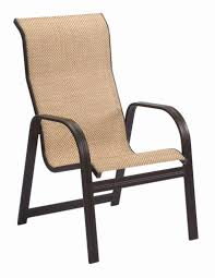 tan sling patio chair fresh patio chairs high back leather dining chairs garden chair