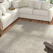 flat woven cotton rugs uk mercury row gray area rug reviews