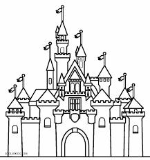 800x857 disney castle coloring pages