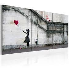 Tableau déco Banksy petite fille au ballon | GiFi